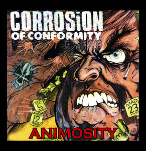 "Corrosion of Conformity Animosity 4x4"" Color Patch"