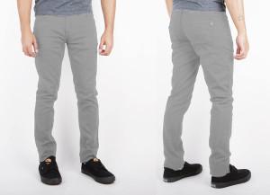 Hulk Grey Skinny Pants