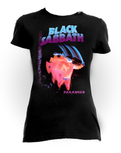 Black Sabbath Paranoid Girls T-Shirt