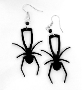 Spider Acrylic Earrings