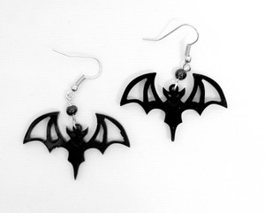 Vampire Bats Acrylic Earrings