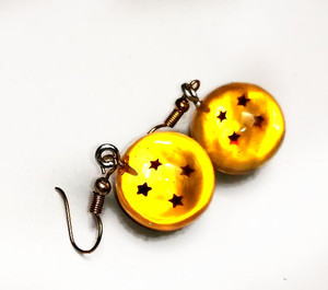Dragon Ball Sphere Earrings