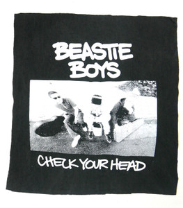 Beastie Boys Check Your Head Backpatch Test