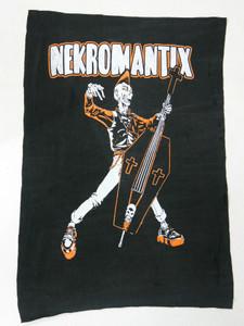 Nekromantix Orange Backpatch Test