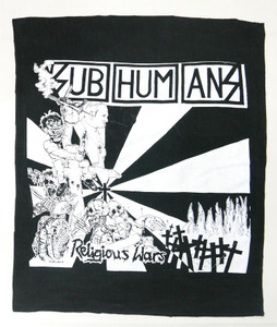Subhumans Religious Wars Backpatch Test