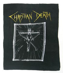 Christian Death Crucifix Backpatch Test