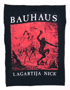 Bauhaus Lagartija Nick Backpatch Test