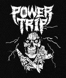 "Power Trip - Reaper 3.5x5"" Printed Patch"