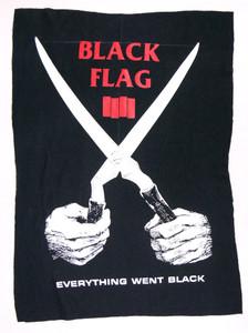 Black Flag Everything Went Black Backpatch Test