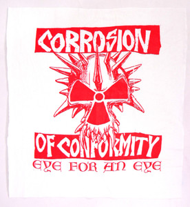Corrosion of Conformity Eye for an Eye Backpatch Test