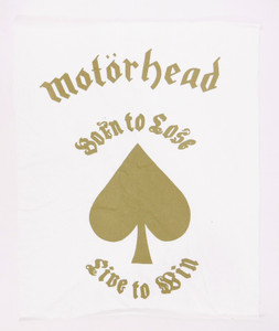 Motorhead Born to Lose Backpatch Test