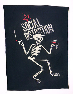 Social Distortion Skelly Backpatch Test