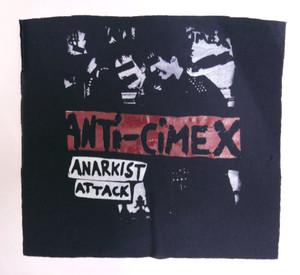Anti-Cimex Anarkist Attack Backpatch Test