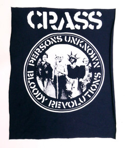 Crass Persons Unknown Backpatch Test