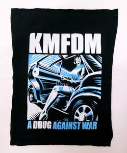 KMFDM A Drug Against War Backpatch Test