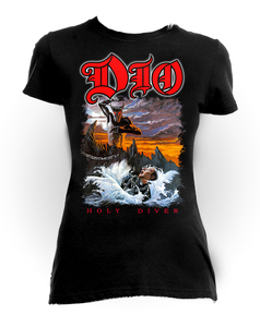 Dio - Holy Diver Girls T-Shirt