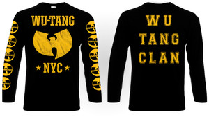 Wu-Tang Clan NYC T-Shirt Long Sleeve T-Shirt