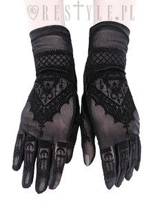 Mendhi Pattern Henna Gloves