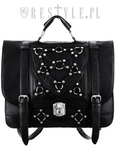 Bondage Messenger Black Hand Bag