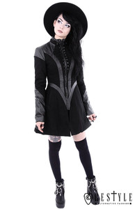 Black Future Goth Coat