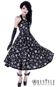 Occult Symbols Witchy Dress