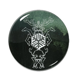 "Agalloch - Marrow of the Spirit 1.5"" Pin"