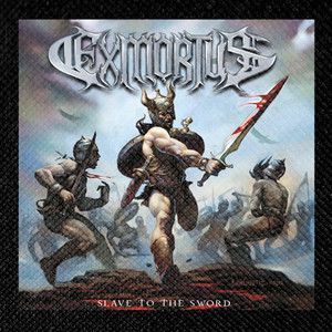 "Exmortus - Slave to the Sword 4x4"" Color Patch"