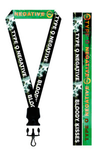 Type O Negative - Bloody Kisses Lanyard