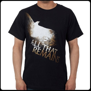 All That Remains Vintage Bird T-Shirt in Small