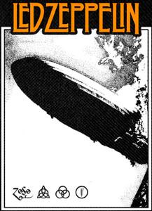 "Led Zeppelin - Blimp 11x18.5"" Backpatch"