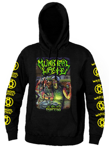 Municipal Waste - The Art of Partying Hooded Sweatshirt