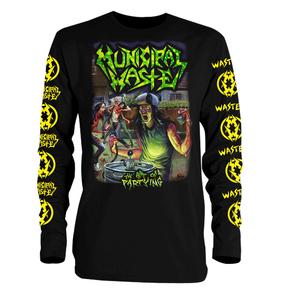 Municipal Waste - The Art of Partying Long Sleeve T-Shirt