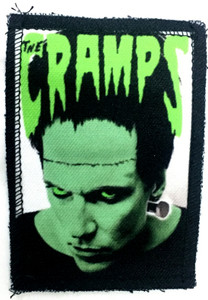 "Cramps - Frankenstein 3x4"" Color Patch"