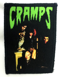 "Cramps - Band 3x4"" Color Patch"