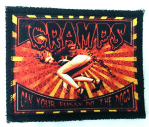 "Cramps - Can your Pussy 4x3"" Color Patch"