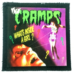 "Cramps - What´s inside? 3x4"" Color Patch"