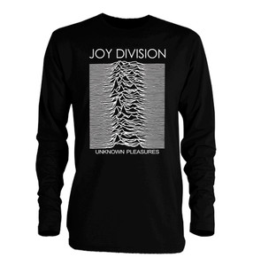 Joy Division Unknown Pleasures Long Sleeve T-Shirt