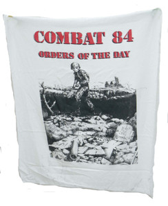 Combat 84  Orders Of The Day Backpatch Test print