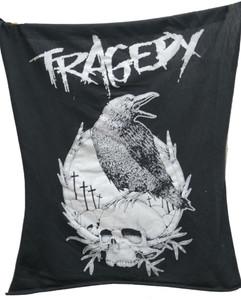 Tragedy Crow Backpatch Test print