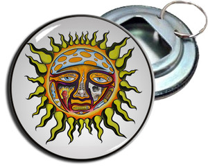 "Sublime - Sun 2.25"" Metal Bottle Opener Keychain"