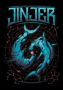 "Jinjer - Sharks 4x5"" Color Patch"