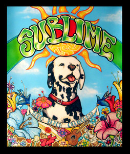 "Sublime - Long Beach California 4x5"" Color Patch"