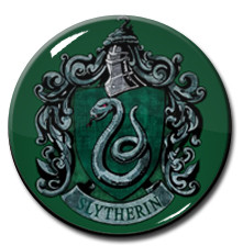 "Harry Potter- Slytherin Logo 1.5"" Pin"