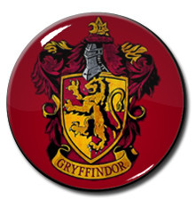 "Harry Potter - Gryffindor Logo 1.5"" Pin"