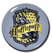 "Harry Potter - Hufflepuff Logo 1.5"" Pin"