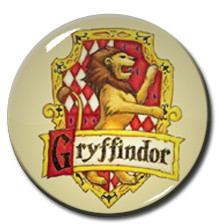 "Harry Potter - Gryffindor Leon 1.5"" Pin"