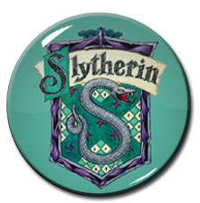 "Harry Potter - Slytherin Snake 1.5"" Pin"