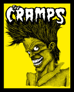 "The Cramps - Bad music  4x5"" Color Patch"