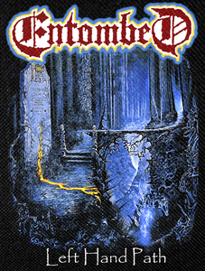 """Entombed - Left Hand Path Backpatch 12x15"""""""