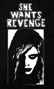 "She Wants Revenge - Girl 3x5"" Printed Patch"